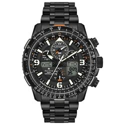 Citizen Eco-drive Promaster Skyhawk A-t Menand039s Chronograph 46mm Watch Jy8075-51e