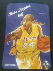 Kobe Bryant Og Resealable 3.5 G Bag Cannabis Flower Bags Empty Collectable