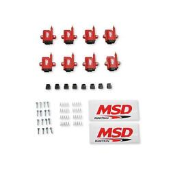 Msd 8289-8 Ignition Coil Smart Coil Red 8-pack