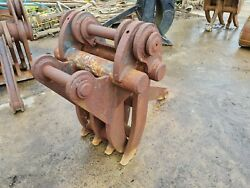 7 Finger Grab For Excavator Suit 20 Ton 80mm Pin 320mm X 460mm Andpound1500 +vat
