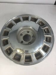 Chrome Car Rim For Chevy Cadillac Gm Oem 14 Slot 16in 07217464 Vintage Auto Part