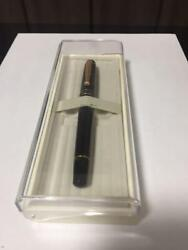 Pilot Fountain Pen Black Body With Many Small Scratches W/tracking