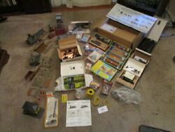 Vintage Tyco Ho Train Set Extras Instructions Houses Towersenginescars Wire Etc