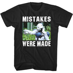 Bill And Ted 3 Mistakes Were Made Menand039s T Shirt Face The Music Dennis Caleb Mccoy