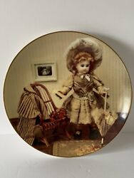 Vintage Lucille 1984 Yesteryears Doll Museum. Plate. Gorham 0007/5000 Circa