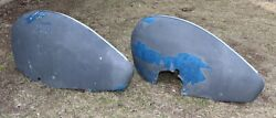Pair Of Stinson 108 Metal Wheel Pants Maybe Other Aircraft - Free Ship W/in 48