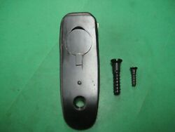 1917 Enfield - Buttplate And Screws - Blue - Unmarked - Us Military - Excellent