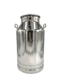 Ss 304 Grade Economy Milk Cans With Sealed Lid And Optional Spigot Used