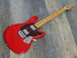Used Music Man Sting Ray Guitar Red Electric Guitar Free Shipping