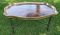 Century Furniture Chateau Lyon Baltand Cocktail Table Tray Shape Top- Msrp 3990