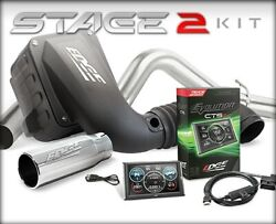 Edge High Restriction Stage 2 Performance Kit W/ Dry Filter For Ford F-250 11-14