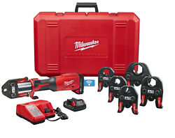 Milwaukee 2922-22 M18 Force Logic 1/2 In - 2 In Jaws Press Tool With One-key Kit