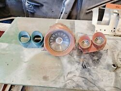1959 59 1960 60 Chevy Impala Bel Air El Camino Biscayne Dash Gauges Nice