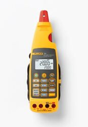 Fluke 773 Milliamp Process Clamp Meter With Loop Power, 4-20 Ma And Dc Volts Sou