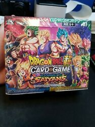 Dragon Ball Super Card Game Assault Of The Saiyans Booster Box - Sealed