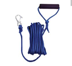 Blue Braid Launch Line With Snap Hook And Foam Grip Bff M2