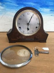 Old Antique/vintage Table Clock Westminster Chimes