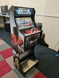 2 Player Arcade Machine - Street Fighter V3 - 7000+ Games + Wifi + Led Buttons