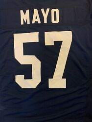 Vintage Auburn Tigers Team Issued Player Issued Game Used Game Jersey Mayo 57