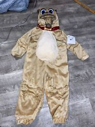 Disney Puppy Dog Pals Rolly Plush Costume Toddler Boys Or Girls Size 3 New