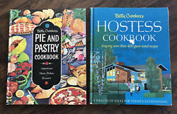Vintage First Edition Betty Crocker Cookbooks. Hostess Cookbook/pie And Pastry