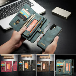 For Huawei P30 Pro Lite Mate 20 Pro Detachable Flip Luxury Leather Wallet Case