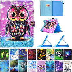 Colorful Pattern Smart Leather Wallet Case Cover For Ipad 9.7 2018 Mini34 Air1/2