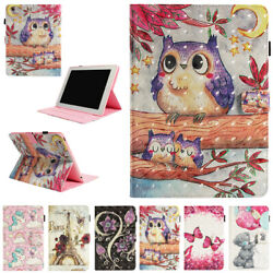 For Ipad 2 3 4 5 6 7 8 10.2 Air 1 2 Leather Patterned Flip Wallet Case Cover