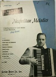 1951 Neapolitan Melodies Cliff Scholl Alfred Music Vintage Sheet Music V215