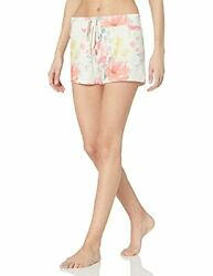 Pj Salvage Womenand039s Loungewear Happy Blooms Short - Choose Sz/color