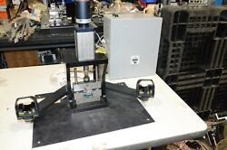 Fabco-air Pneumatic Press And Allen Bradley Micro Logic 1000 1761 Plc And Die Shoe