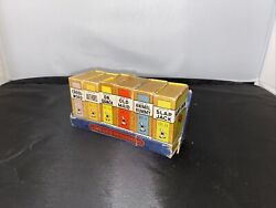 Vintage 1935 Library Of Games Big Little Cards Russell Old Maid Dr Quack 6 Boxes