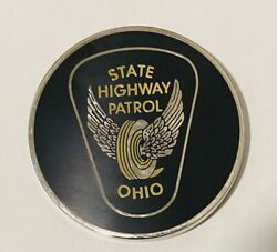 Sought After-unique-ohio State Highway Patrol-police Challenge Coin