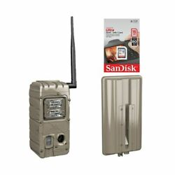 Cuddeback Cuddelink G Series Strobe Trail Camera With 6d External And 16sd Card