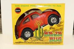 Vintage Testors .049 Vw Baja Bug Tether Car W/ Box Manx Off Road Cox Orange Moon