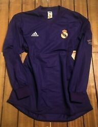 Real Madrid 2000 Centenary Player Issue Away Shirt - Non Reversible -long Sleeve