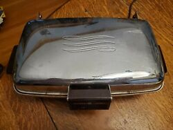 Vintage 1950s Ge General Electric Waffle Iron/maker Cat No 179g39-made In Usa