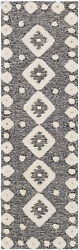 Surya Cherokee Wool 9and039 X 12and039 Rectangle Area Rugs In Black And Cream Chk2300-912