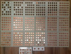 Wheat Penny Collection 1909 Vdb 2020 Lincoln Steel Cents P D S Bu Memorial Set