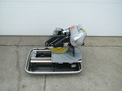 Pearl Abrasive Vx10.2xlpro 10 Professional Tile Wet Saw Kit Used Free Shipping