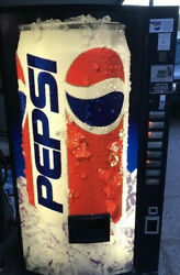 Pepsi Cola Vending Machine Works Perfectly Clean Local Pick Up Only