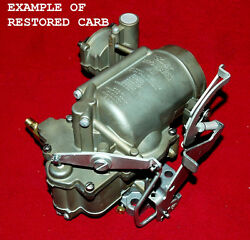 1950and039s-60and039s Your Stromberg Ww Carburetor Restored...to Perfect Condition
