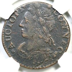 1788 7-e R-5 Ngc Vf Details Connecticut Colonial Copper Coin