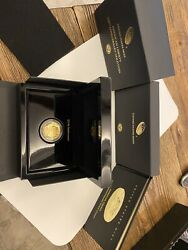 2017 W 100 1 Ounce .9999 Proof Gold Hr 225th Liberty In Original Mint Packaging