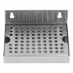 Wall Mounted Beer Drip Tray Stainless Steel Drip Tray For Homebrew Kegging