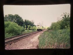 Ac2404 35mm Slide Of An Allis-chalmers From Media Archives Truck On Tracks