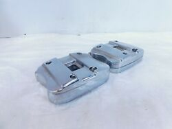 Indian Gilroy Scout And Spirit And Chief Chrome Cylinder Head Rocker Arms And Boxes