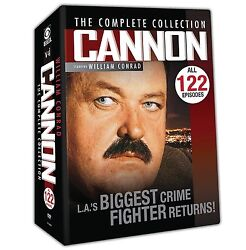 Cannonthe Complete Mystery Collection 122 Episodes Free Shipping