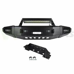 Offroad Full Width Front Bumper Assembly W/ Light For Chevy Silverado 2500 15-17