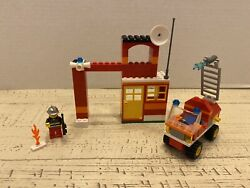 Lego 6191 Creator Fire Fighter Building Set -used Miss 2 Non Essential Blocks